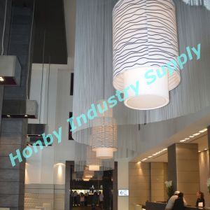 Custom Made 12mm Metal Chain Hanging Lamp Covering Curtain pictures & photos