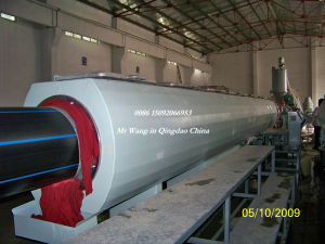HDPE Water Supply and Gas Pipe Extrusion Line