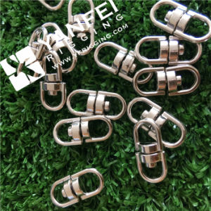 Nickle Plated Double Eye Chain Swivel for Chain pictures & photos