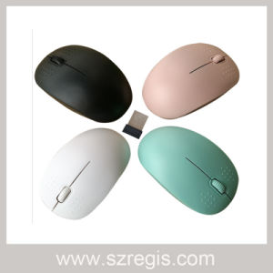 2.4G Simple Style Wireless Computer Mouse pictures & photos