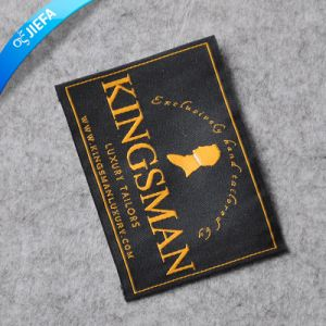 High Density Polyester Woven Labels for Garment pictures & photos