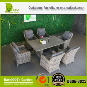 Outdoor Rattan Patio Wicker Garden Furniture Dining Set pictures & photos