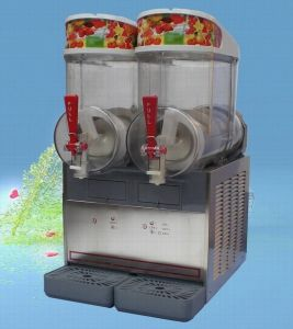 Countertop/ High Efficency Drink Dispenser & Slush Machine with 2 Bowl