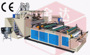 2 Layer Co-Extrusion 1000mm PE Stretch Cling Film Machine pictures & photos
