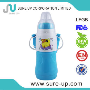 Beautiful Design Plastic Glass Liner Water Bottle for Kids pictures & photos