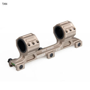 Tactical Hunting Gun Double Ring Weaver Rail Scope Mount Cl24-0144 pictures & photos