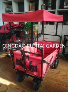 Foldable Garden Cart with Canopy (Tc4208) pictures & photos