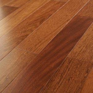 Guangzhou Discount Natural Brazilian Cherry Jatoba Engineered Hardwood Flooring pictures & photos