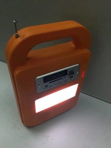 Solar LED Lighting Kits System with FM Radio and SD Card Player pictures & photos