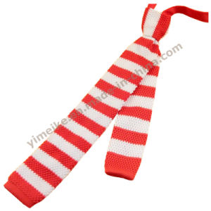 Fashion Skinny Striped Knitted Wool Neck Ties for Childern pictures & photos