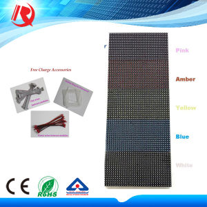 DIP Single Color P10 Red/Green/Blue/White Color P10 LED Module pictures & photos