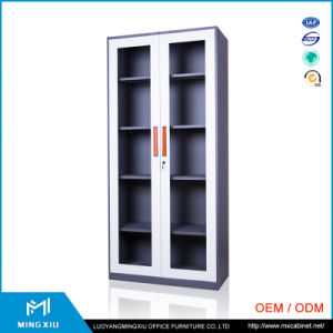 Mingxiu High Quality 2 Door Lightweight Steel Filing Cabinets / Double Door Cupboard pictures & photos