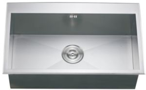 Stainless Steel Single Bowl, Stainless Steel Kitchen Sink pictures & photos