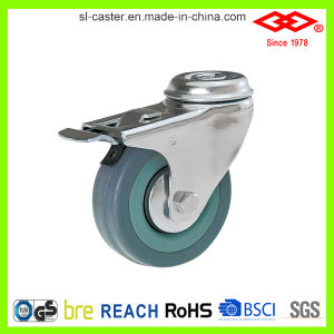 100mm Swivel Bolt Hole Locking Instrumental Caster (G110-32C100X27S) pictures & photos