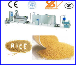 CE Certificate Double Screw Machine Rice Production Line pictures & photos