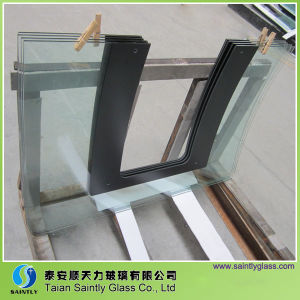 Bent Toughened Cooker Hood Glass with U-Shaped Groove pictures & photos