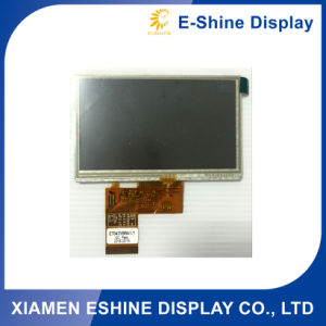 4.3 TFT resolution 480X272 high brightness with Resistive Touch screen pictures & photos
