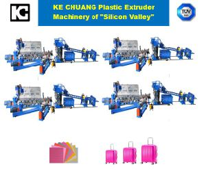 Auto Plastic Case Hand Travel Luggage Making Production Line Machine pictures & photos