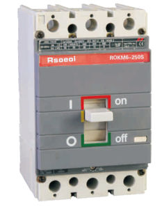 Rokm6 Moulded Case Circuit Breaker (16A-1600A)