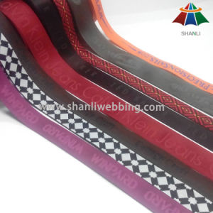 Customized Nylon/Polyester/Cotton/PP Woven Jacquard Webbing pictures & photos
