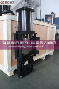 Slurry Knife Gate Valve for Mining Cinder Slurry pictures & photos