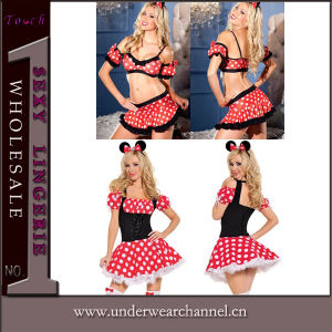 2014 Fashion Sexy Adult Easter Girl Bunny Carnival Costume (8821) pictures & photos