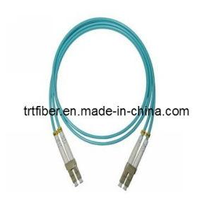 LC/UPC-LC/UPC OM3 DX Fiber Optical Patch Cord (fiber optic jumper) pictures & photos