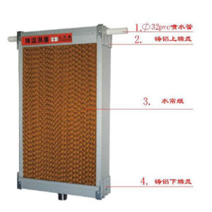 Evaporative Cooling Pad for Ventilation System in Workshop pictures & photos