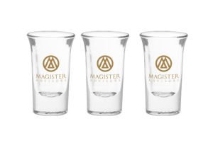 Thick Bottom Shot Glass with Customer Logo