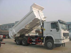 380HP Euro3 Emission Standard Sinotruk 6X4 Drive Type 25ton Tipper Truck for Sale pictures & photos