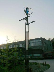 Wind Solar Hybrid Power System LED Streetlight Low Price 2015