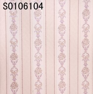 Italy Design Deep Embossed PVC Wallpaper (106cm*10m) pictures & photos