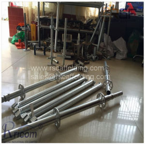 Best Quality/Safety Ringlock System Scaffolding for High-Rise/Bridge Construction pictures & photos