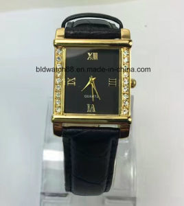 Cheap Promotion Watch with PU Leather Band pictures & photos