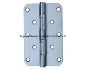 Stainless Steel 4 Ball Bearing Round Corner Hinge pictures & photos