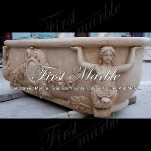 Desert Gold Bathtub for Home Decoration Mbm-1084 pictures & photos