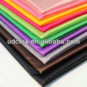 100% Polyester Full Dull Pongee Lining Fabric for 190t (BD19)