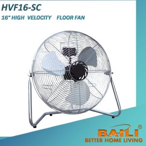 "16"" High Velocity Industrial Floor Fan with Tilting Angle pictures & photos"