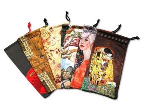Glasses Bag Made of Cotton, Non Woven and Feather pictures & photos