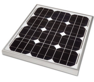 30W Mono Solar Panel for Solar Lighting System pictures & photos
