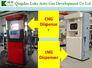 Luke LNG CNG Dispenser with High Accuracy Nozzle