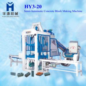 Semi-Automatic Qt3-20 Block Making Machine
