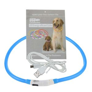 LED Dog Collar Light up Night Collar USB Rechargeable Waterproof pictures & photos