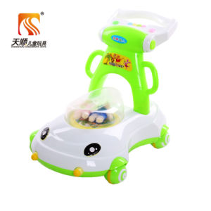 Wholesale Baby Push Walker with 4 Plastic Wheels pictures & photos