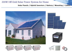 300W off-Grid Solar Power/Energy System for Home