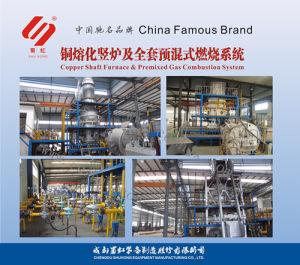 Copper Shaft Furnace and Premixed Gas Combustion System pictures & photos