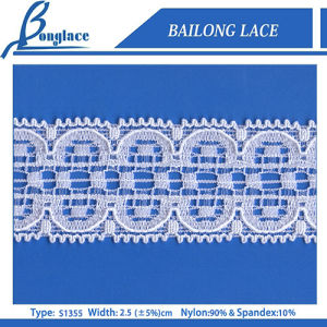 2.5cm Popular Trimming Lace for Women Garment (S1355)