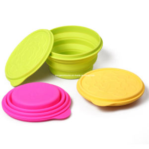 Eco-Friendly Microwave Safe Silicone Bowl (MY32)