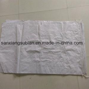 Cheap Recycled White Color Polypropylene Woven Bags Sacks pictures & photos