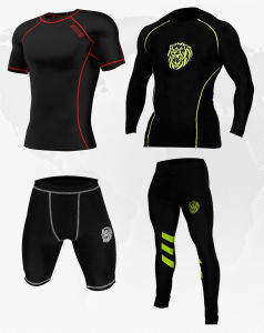 Mens Compression Armour Base Layer pictures & photos